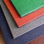 Fábrica de piso de borracha reciclada